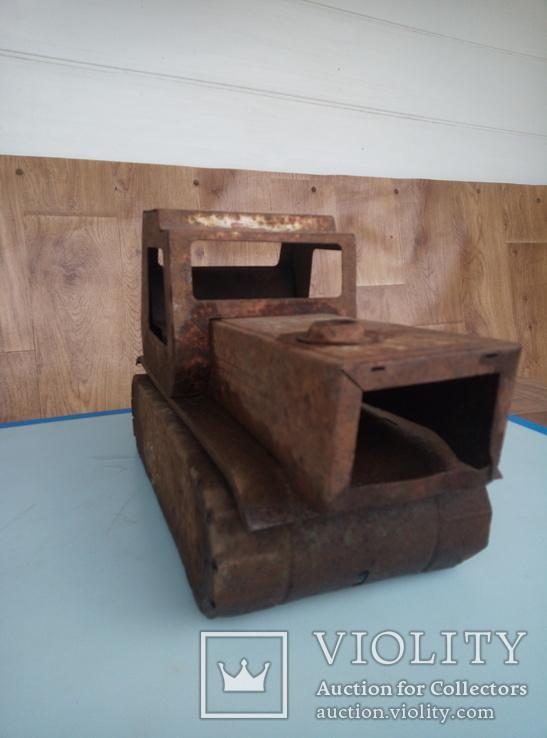 Давняя игрушка трактор., фото №2