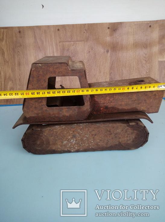 Давняя игрушка трактор., фото №6