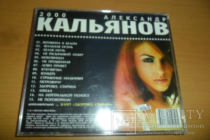 Диск CD сд Александр Кальянов - Не Поговорили, фото №4