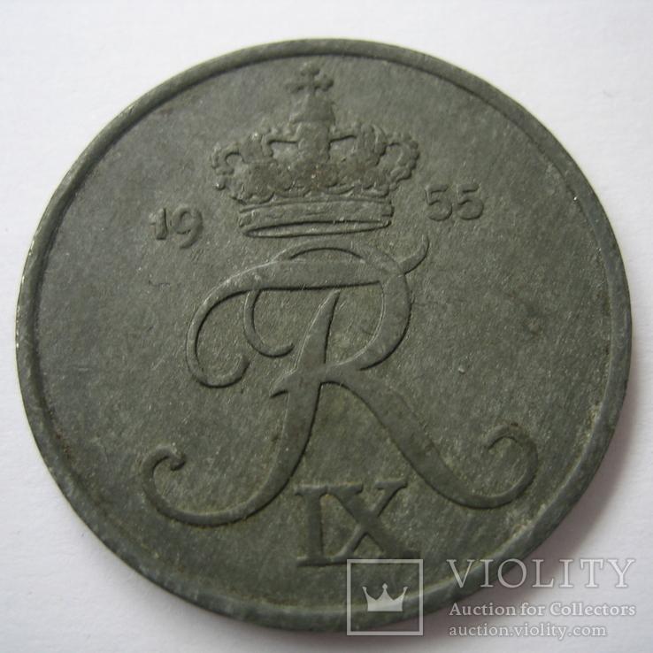 Дания 5 эре 1955 года, фото №9