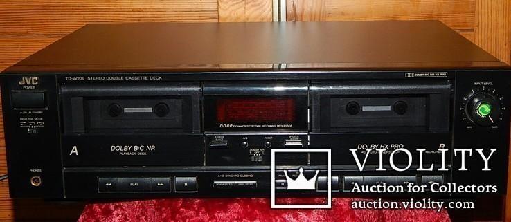 Двух кассетная дека JVC TD-W206 DOUBE, фото №2