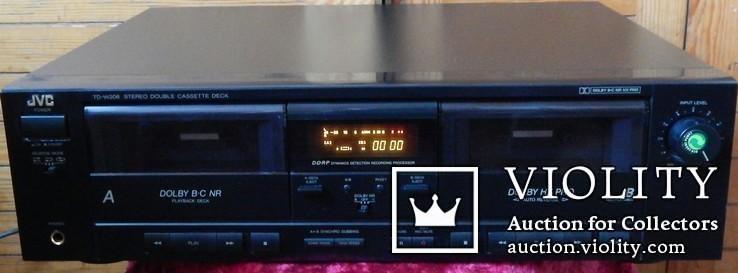 Двух кассетная дека JVC TD-W206 DOUBE, фото №3