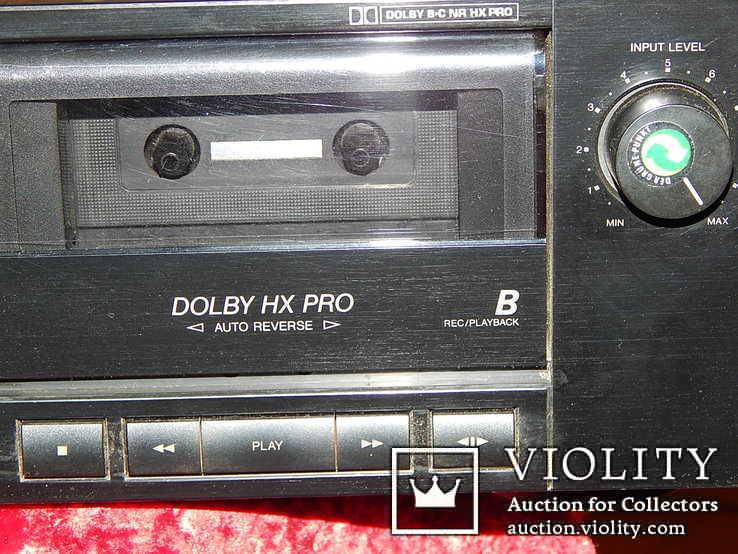 Двух кассетная дека JVC TD-W206 DOUBE, фото №6