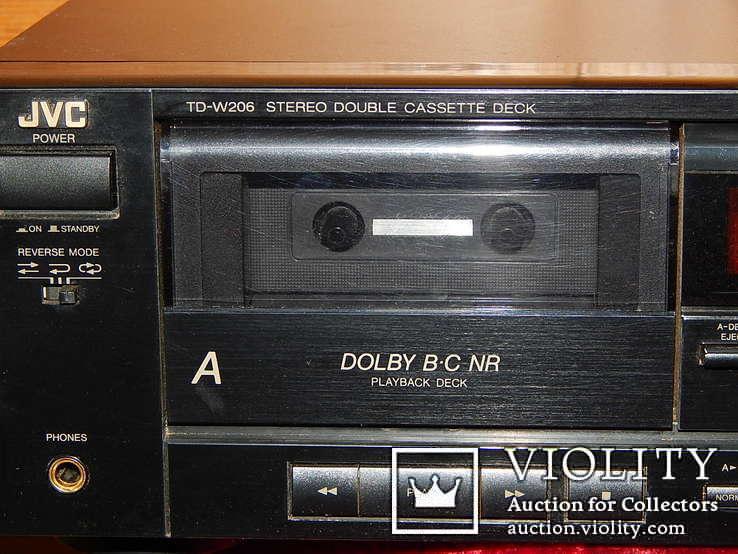 Двух кассетная дека JVC TD-W206 DOUBE, фото №7