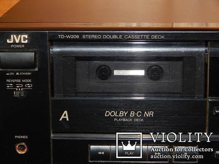 Двух кассетная дека JVC TD-W206 DOUBE, фото №8