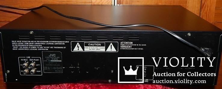 Двух кассетная дека JVC TD-W206 DOUBE, фото №9
