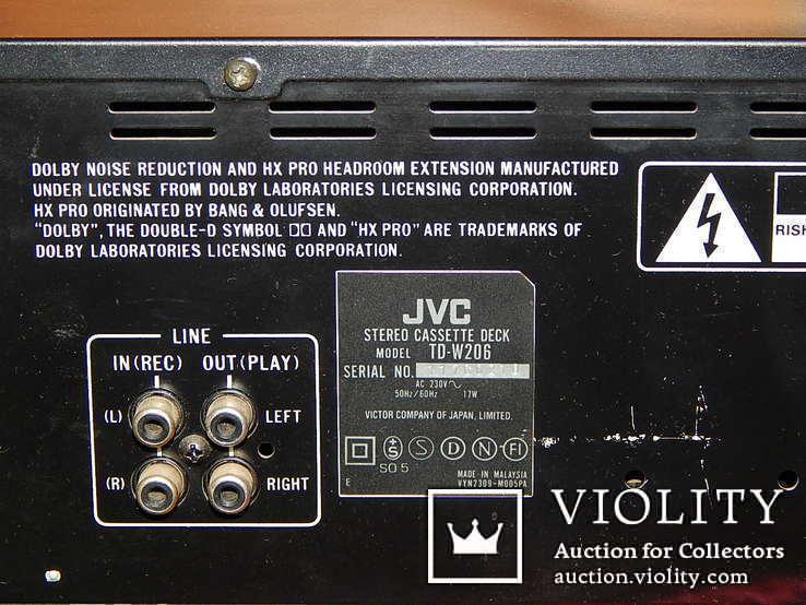 Двух кассетная дека JVC TD-W206 DOUBE, фото №10