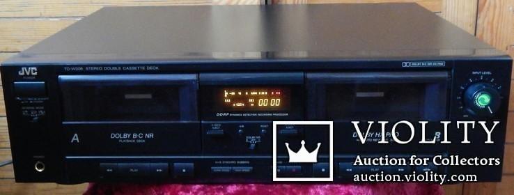Двух кассетная дека JVC TD-W206 DOUBE, фото №11