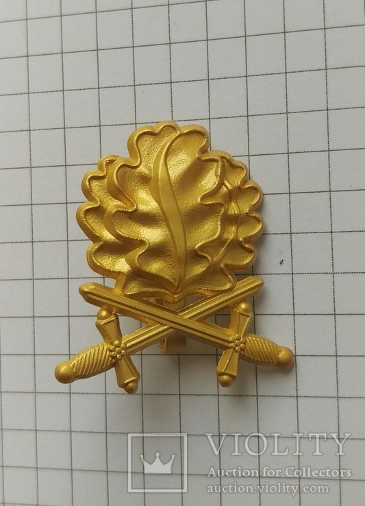 Копия Золотые дубовые листья с мечами к Рыцарскому кресту., фото №2