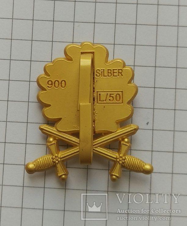 Копия Золотые дубовые листья с мечами к Рыцарскому кресту., фото №3