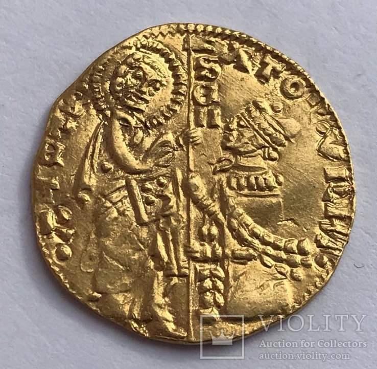 Дукат 1350-1439гг. Римский сенат