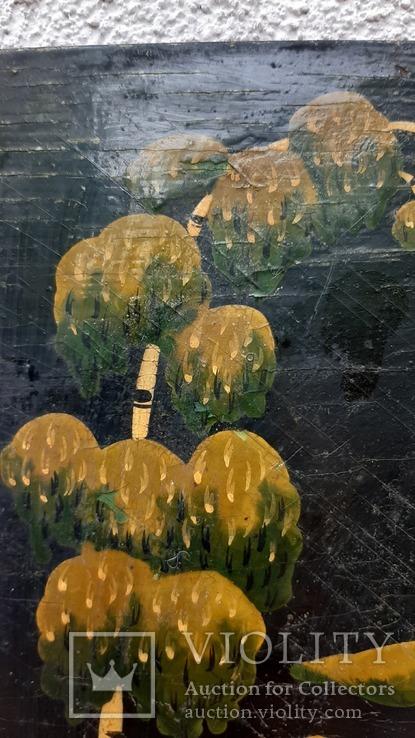 Картина на фанере в стиле Палех или Лубок., фото №6