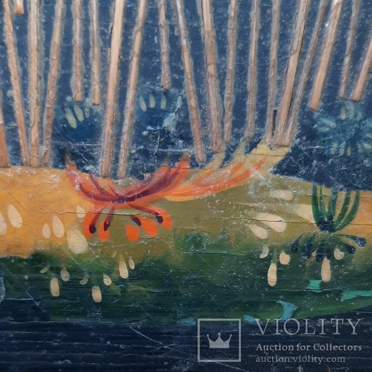 Картина на фанере в стиле Палех или Лубок., фото №8