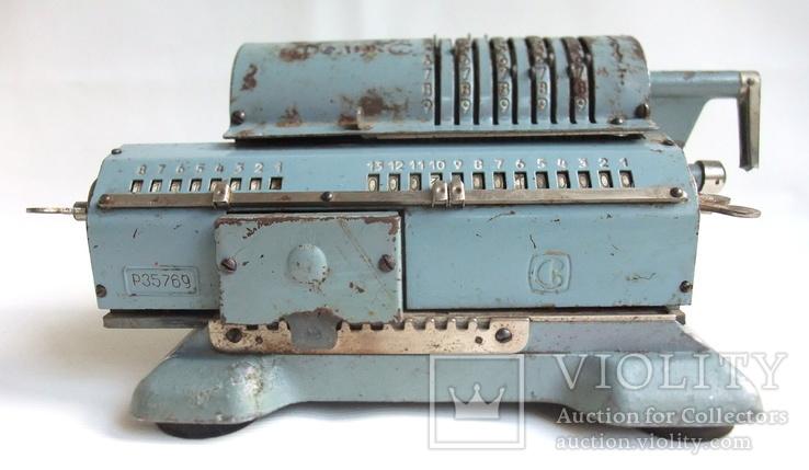 Арифмометр ФЕЛИКС механическая вычислительная машина., фото №5