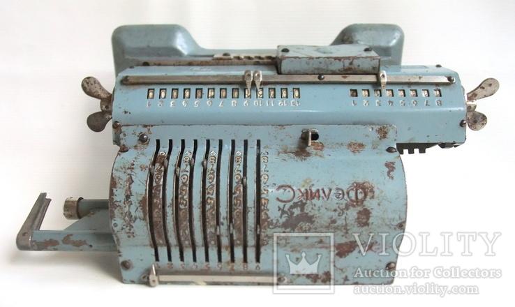 Арифмометр ФЕЛИКС механическая вычислительная машина., фото №11