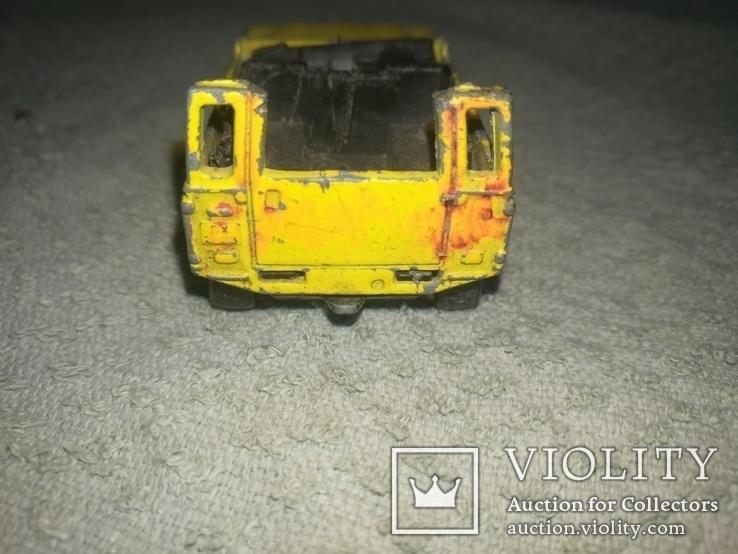 Машинка LAND ROVER NINETI, фото №4