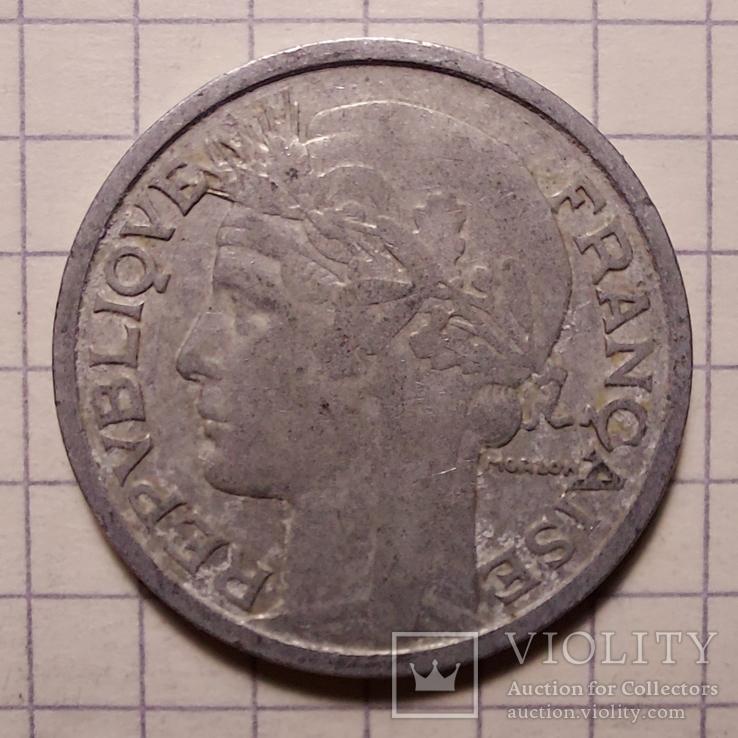 Франция. 2 франка 1948, фото №2