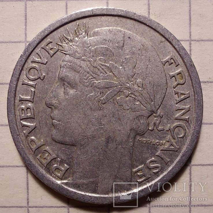 Франция. 1 франк 1948, фото №2