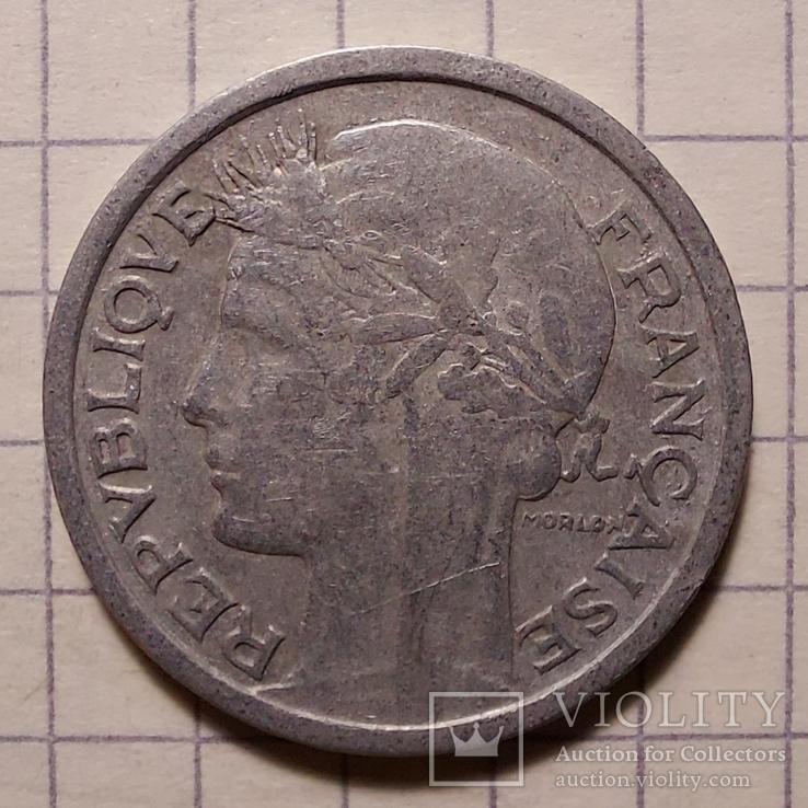 Франция. 1 франк 1946, фото №3