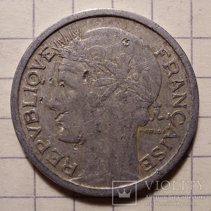 Франция. 1 франк 1950, фото №2