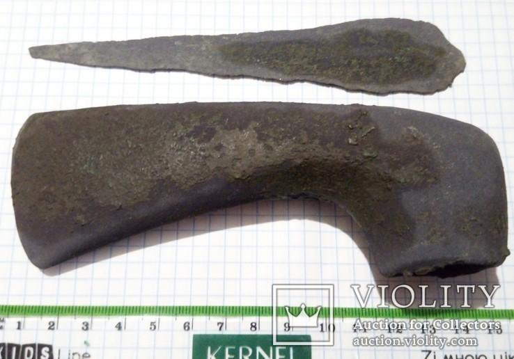 Вислообушный топор + Нож  начала 3 тыс. до н.э.