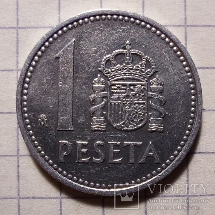 Испания. 1 песета 2005, фото №2