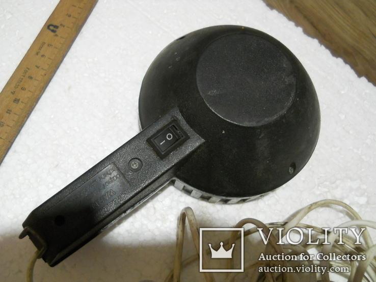 Прожектор рабочий, работает от автоприкуривателя, длина провода 9,5 м., фото №5
