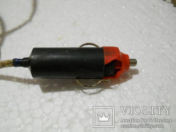 Прожектор рабочий, работает от автоприкуривателя, длина провода 9,5 м., фото №8