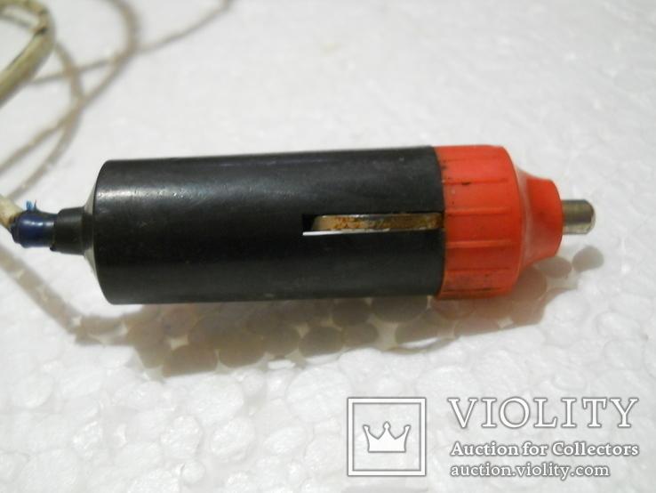 Прожектор рабочий, работает от автоприкуривателя, длина провода 9,5 м., фото №10