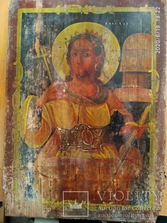 Икона Св. Варвары, фото №2