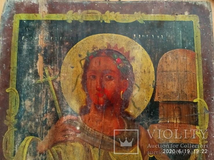 Икона Св. Варвары, фото №3