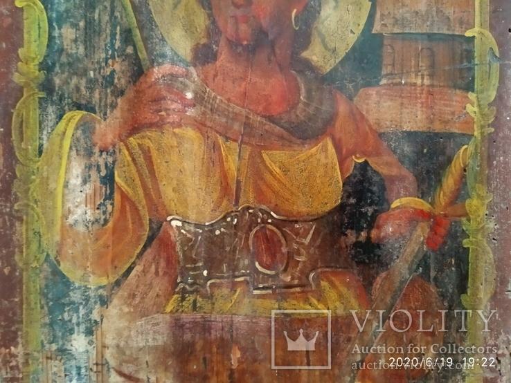 Икона Св. Варвары, фото №5