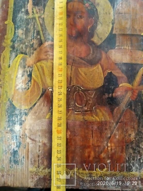 Икона Св. Варвары, фото №7