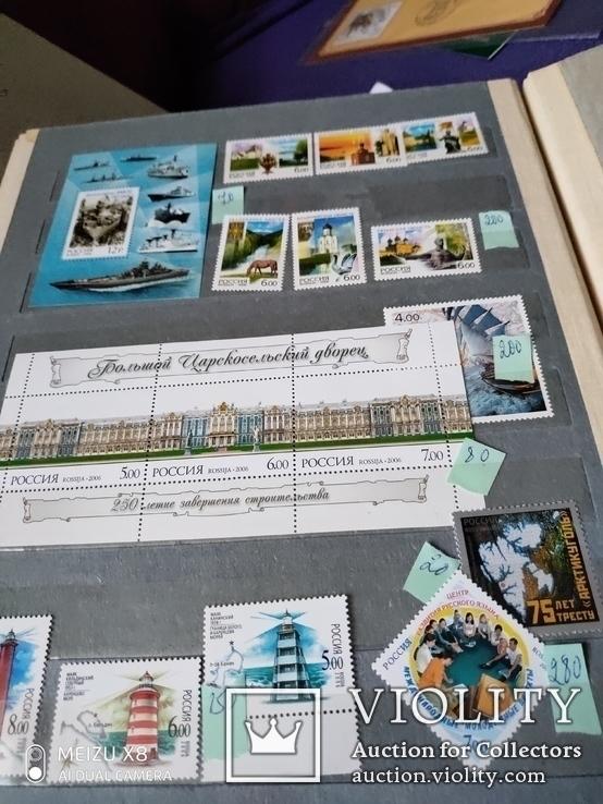 Лот  негашеных марокРоссии за 2006г с блоками и малыми листами, фото №7