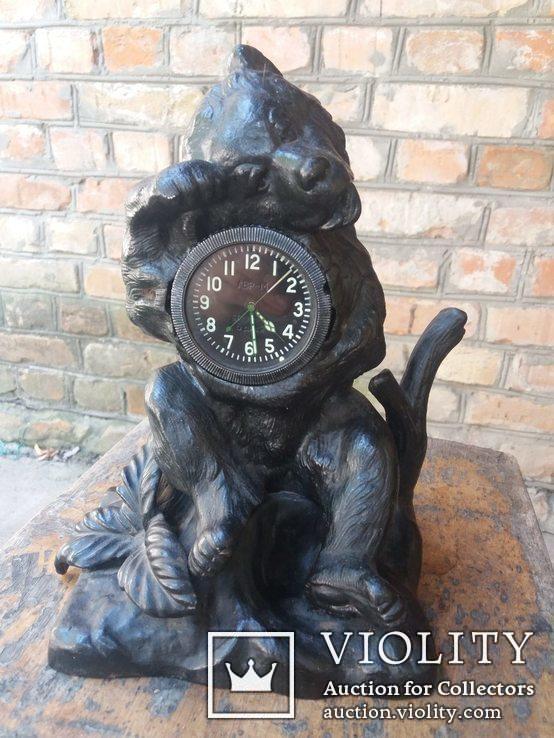 Каминные часы Медведь Касли