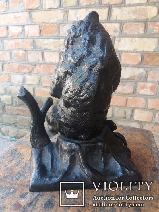 Каминные часы Медведь Касли, фото №5