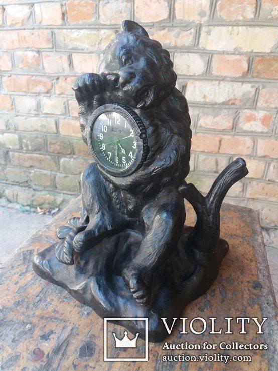 Каминные часы Медведь Касли, фото №7