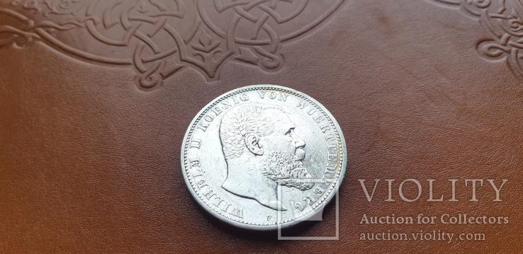 5 марок 1903 р. Вюртемберг, фото №4
