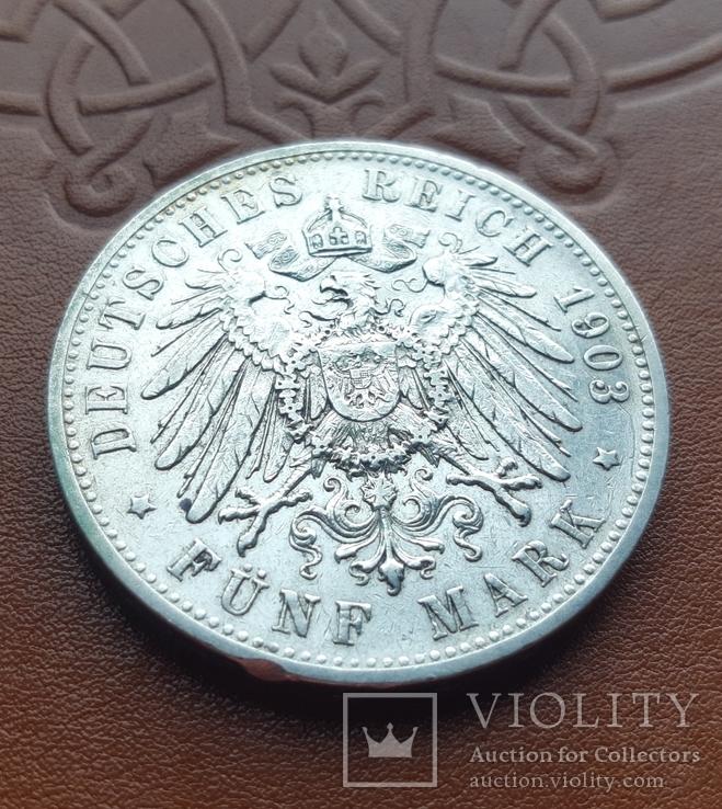 5 марок 1903 р. Вюртемберг, фото №6