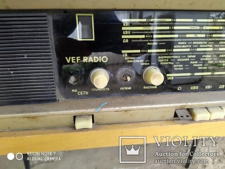 Радиола VEF RADIO, фото №3