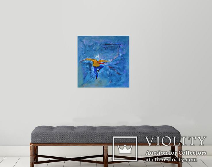 """Картина на холсте  60х60  И Безроднов """"Танец"""", фото №3"""