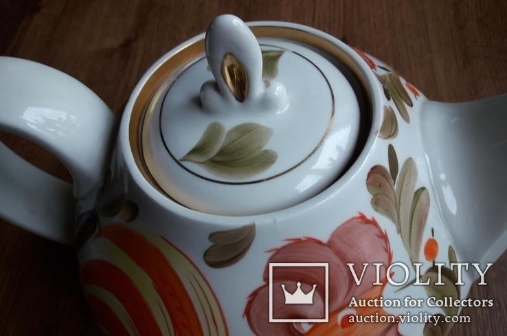 Большой фарфоровый чайник., фото №4