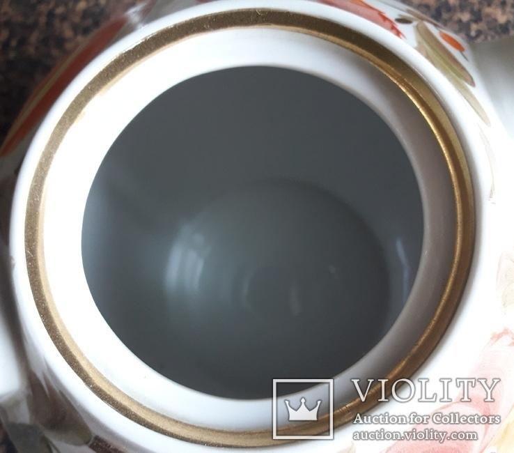Большой фарфоровый чайник., фото №8