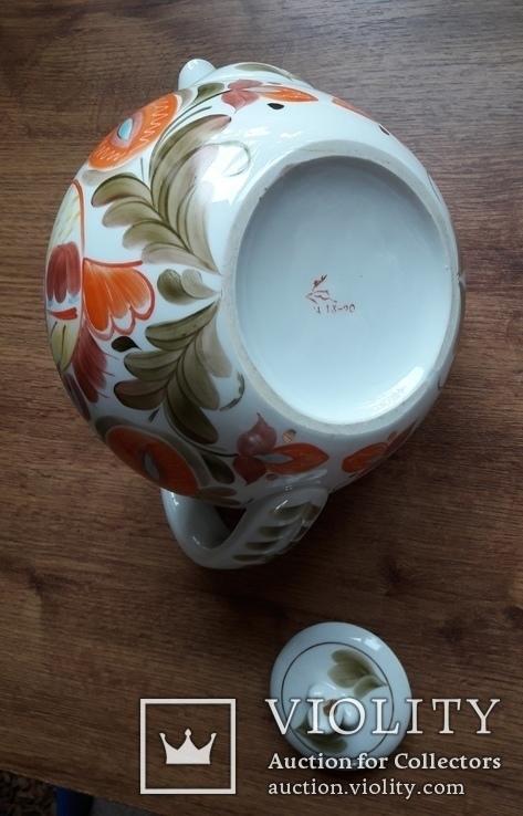 Большой фарфоровый чайник., фото №12
