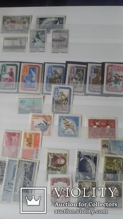 Большой набор негашеных марок СССР 1930-50гг, фото №2
