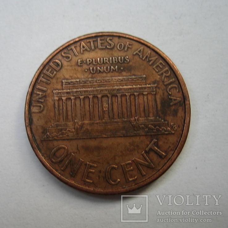 США 1 цент 1994 года.D., фото №7