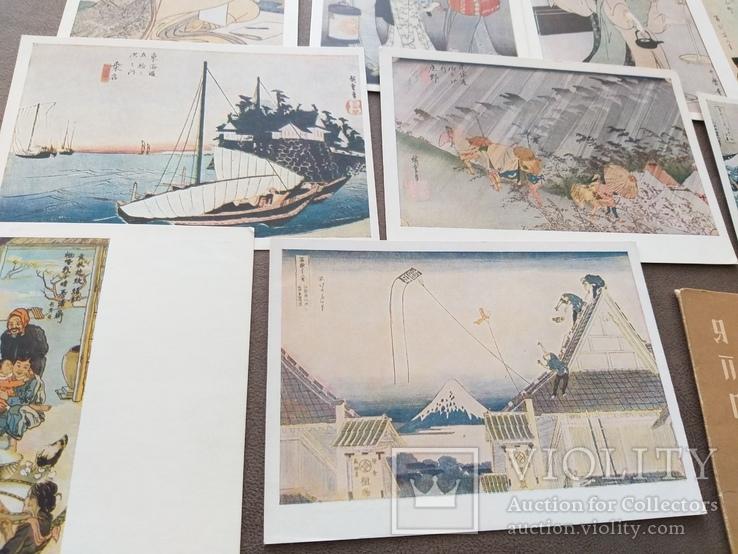 Японская гравюра изогиз 1956год, фото №3