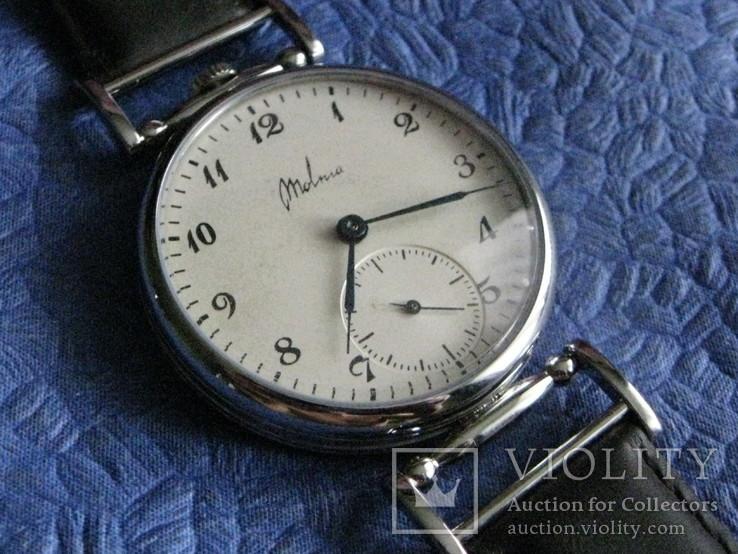 Часы Молния 3602 Классический циферблат.Рабочие на ремешке, фото №3