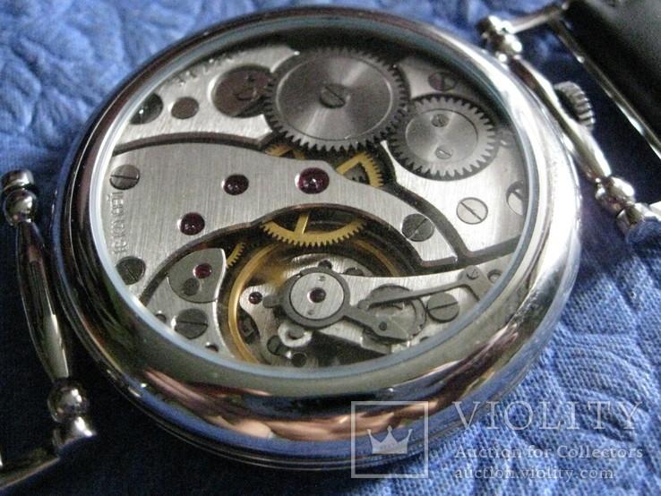 Часы Молния 3602 Римские цифры.Рабочие на ремешке, фото №11