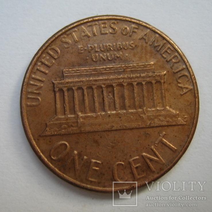 США 1 цент 1977 года., фото №6